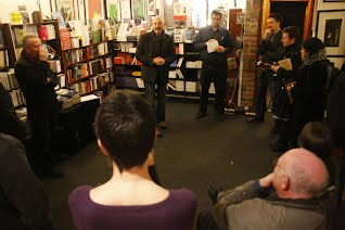 No Alibis book store launch